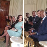 Adrienne Bosh Ray Allen Heat White House
