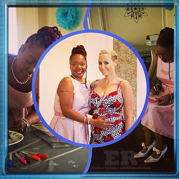 Amber Rose Second Baby Shower Wiz Mother
