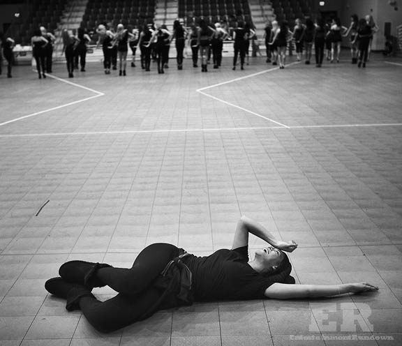 Beyonce Super Bowl Rehearsals Photos