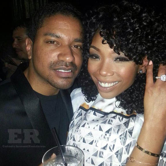 Brandy Norwood Fiance Ryan Press NYE 2012 a