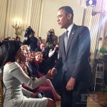 Gabrielle Union President Obama Heat White House