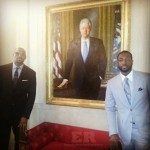 LeBron James Dwyane Wade Heat White House