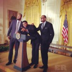 LeBron James Udonis Haslem Heat White House