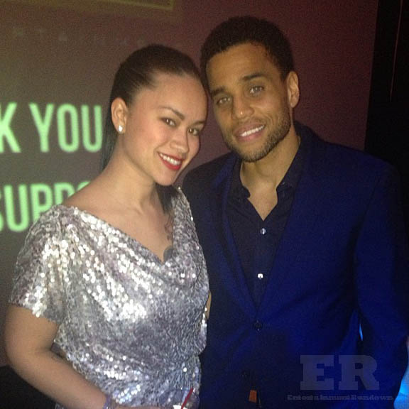 Michael Ealy Girlfriend 2012 Newly married Michael Ealy