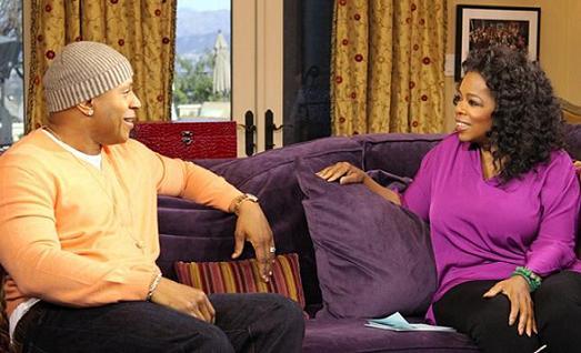 Oprah Winfrey LL Cool J