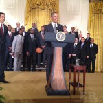 President Obama Heat White House