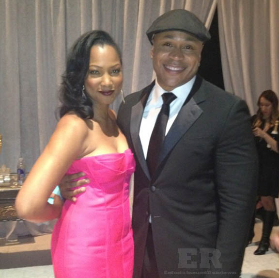 LL Cool J Garcelle Beauvais NAACP 2013