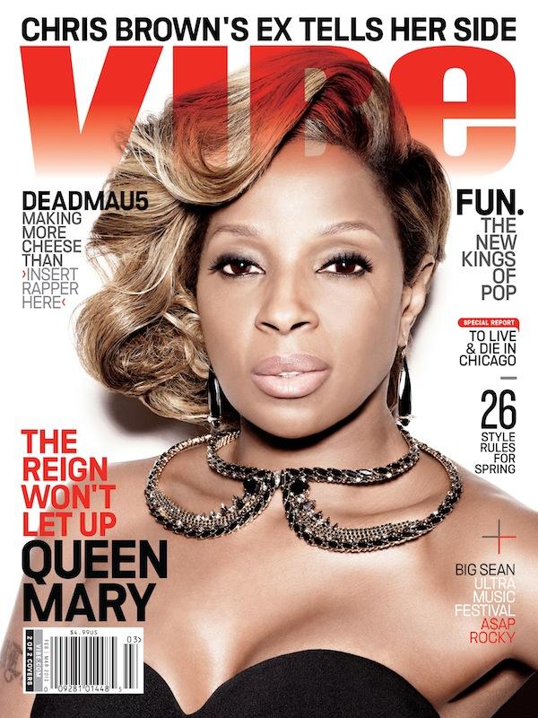 Mary J Blige Vibe Magazine