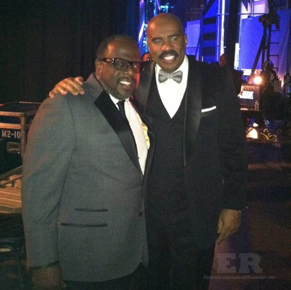 Steve Harvey Cedric The Entertainer NAACP 2013