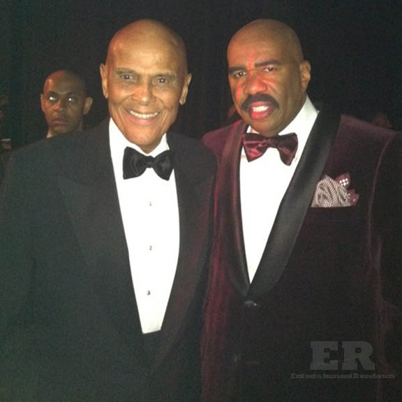 Steve Harvey Harry Belafonte NAACP 2013
