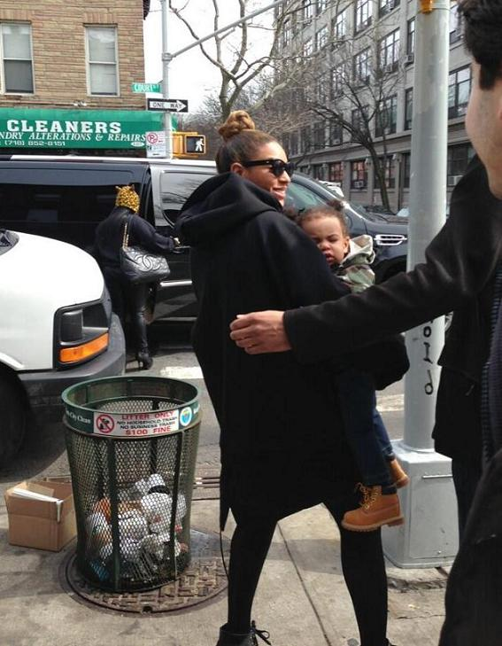 Beyonce Blue Ivy Carter Brooklyn
