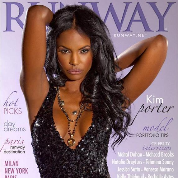 Kim Porter Runway Magazine