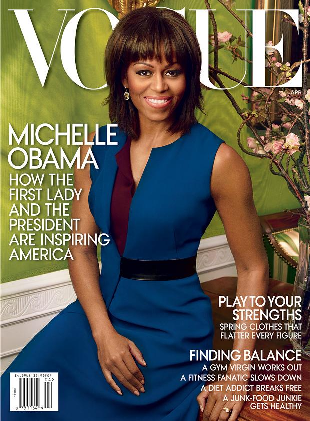 Michelle Obama Vogue Cover April 2013