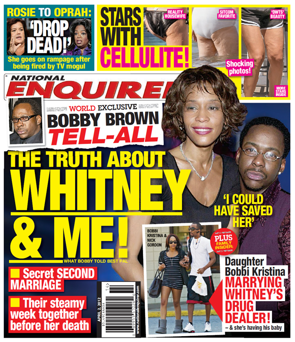 National Enquirer Bobby Brown