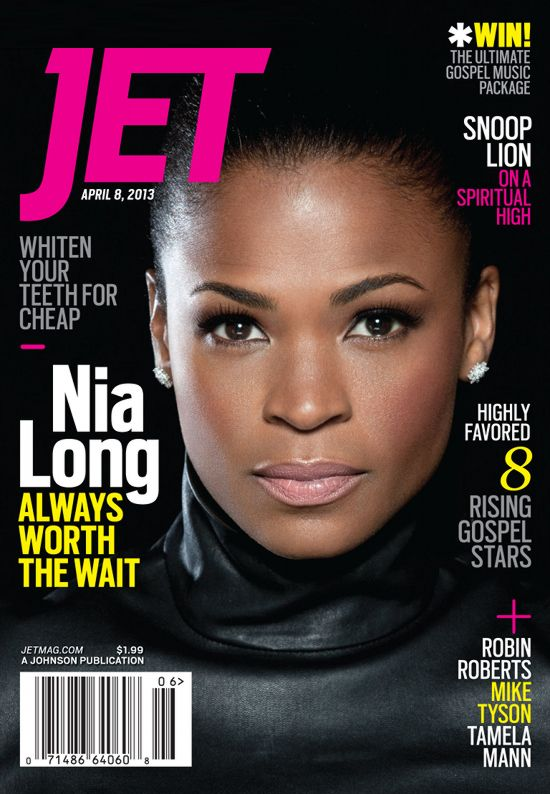 Nia Long Jet Magazine April 2013