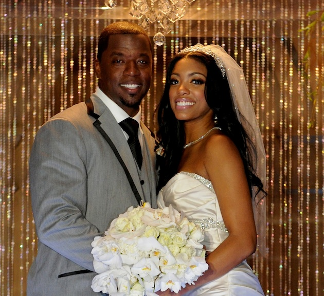 Porsha Kordell Steward Wedding Picture