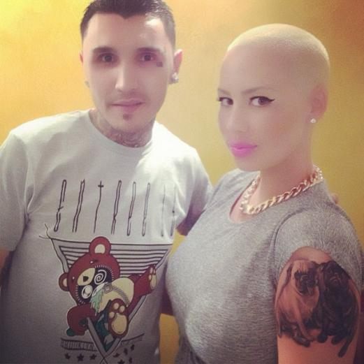 Amber Rose Tattoos 3