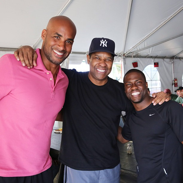 Denzel Washington Kevin Hart Boris Kodjoe
