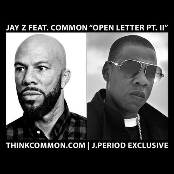 Jay-Z Common Open Letter 2