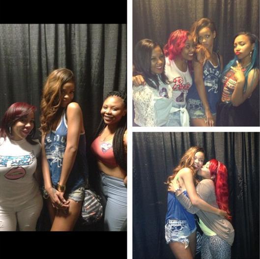 Rihanna Diamonds World Tour Atlanta Tiny - Entertainment ... Rihanna Diamonds