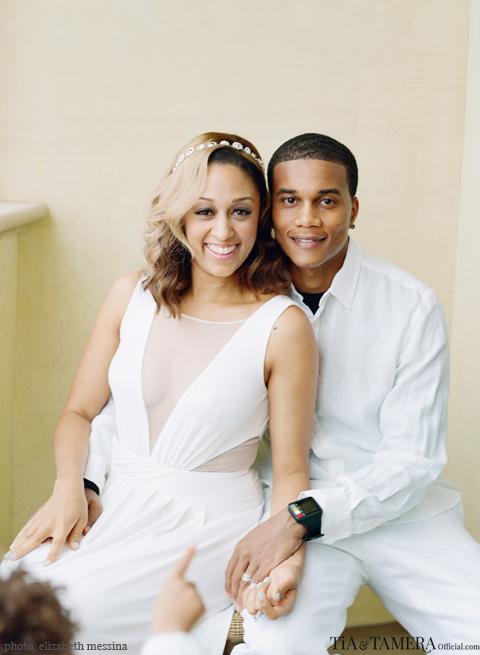 Tia Mowry Cory Hardict Renew Wedding Vows 4