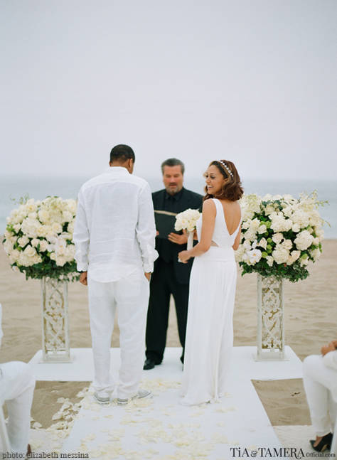 Tia Mowry Cory Hardict Renew Wedding Vows