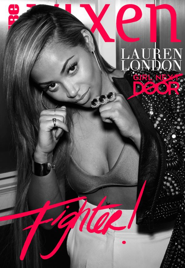 Lauren London Vibe Vixen May 2013