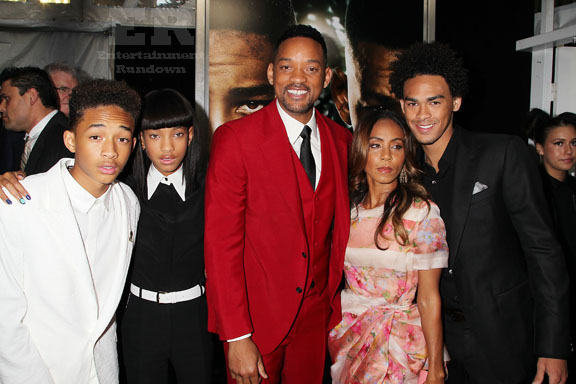 Will Smith Family After Earth NYC Premiere