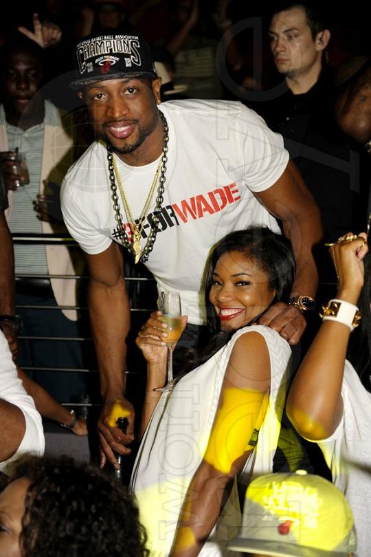 Gabrielle Union And Dwyane Wade Championship 2013 Photos: Miami H...