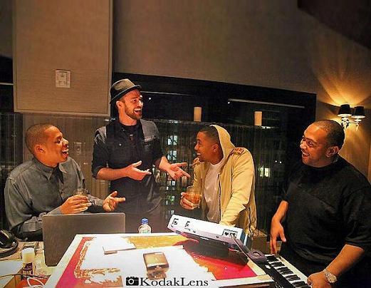 Jay-Z Nas Justin Timberlake Timbaland