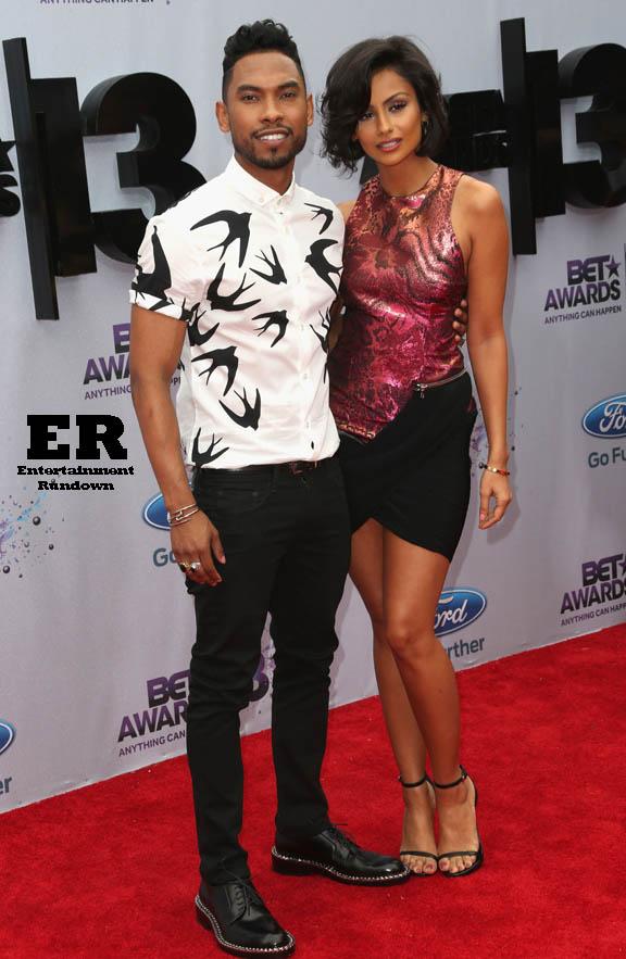 J Cole Girlfriend 2013 2013 BET Awards - Arrivals