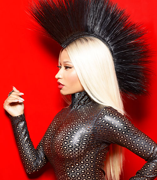 Nicki Minaj Marie Claire August 2013