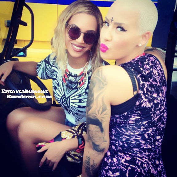 Beyonce Amber Rose Made In America Fest