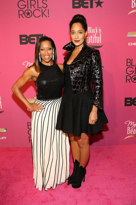 BET Black Girls Rock Red Carpet