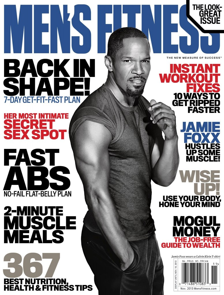 Jamie Foxx Men's Fitness