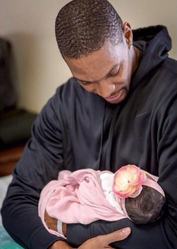 Chris Adrienne Bosh Baby Girl 2