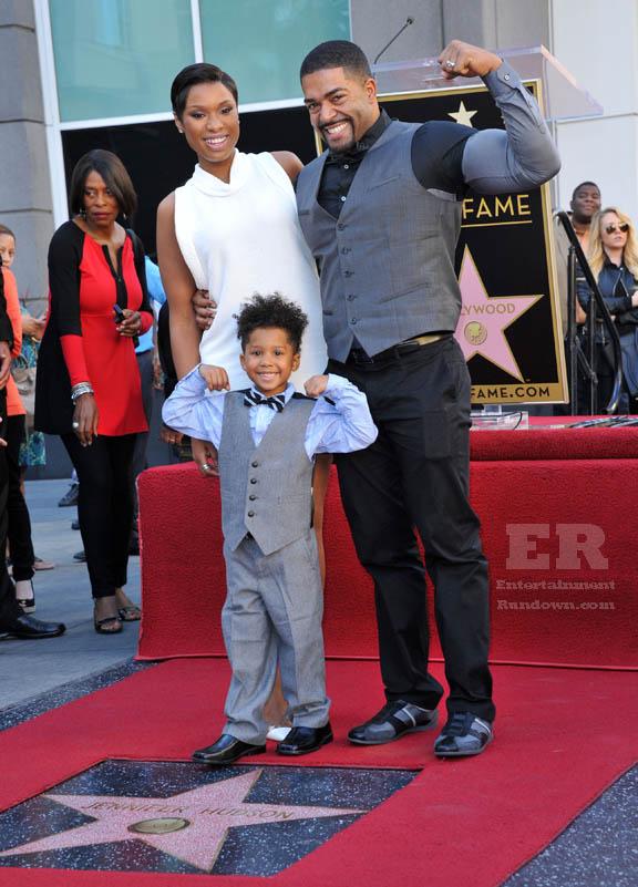 Jennifer Hudson Honored On The Hollywood Walk Of Fame