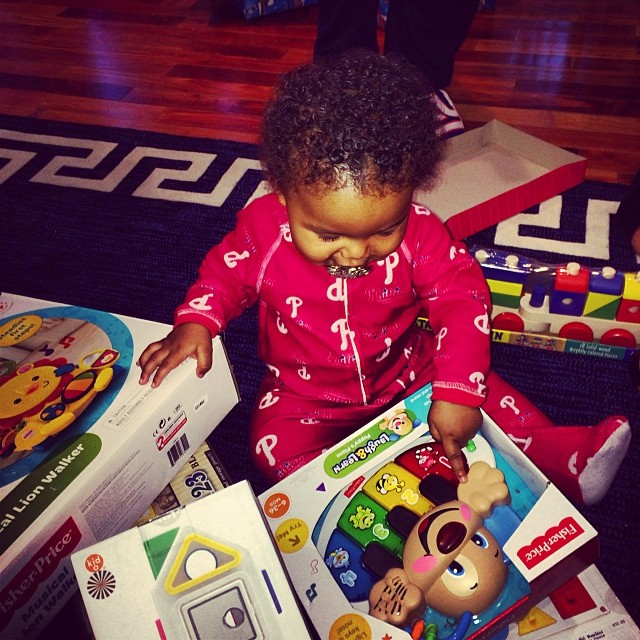 Amber Rose Sebastion Christmas
