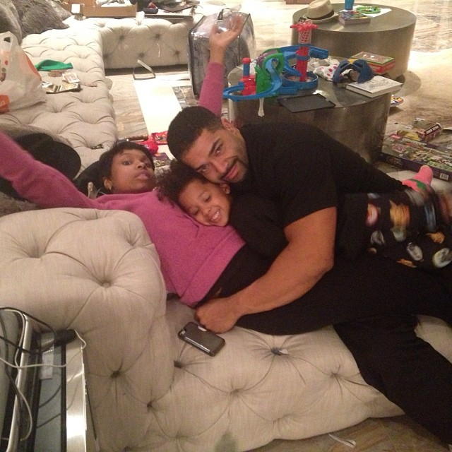 Jennifer Hudson David Otunga  Christmas