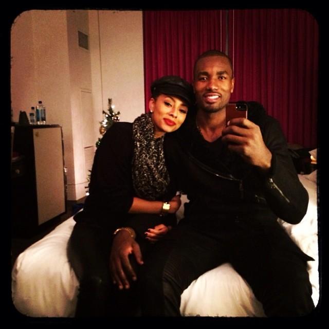 Keri Hilson boyfriend Serge Ibaka Christmas