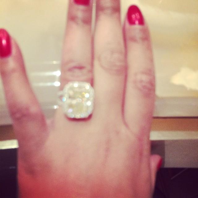 Tamar Braxton Christmas Gift Ring