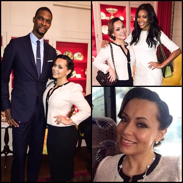 Chris Adrienne Bosh Miami Heat Wives White House 2014 6
