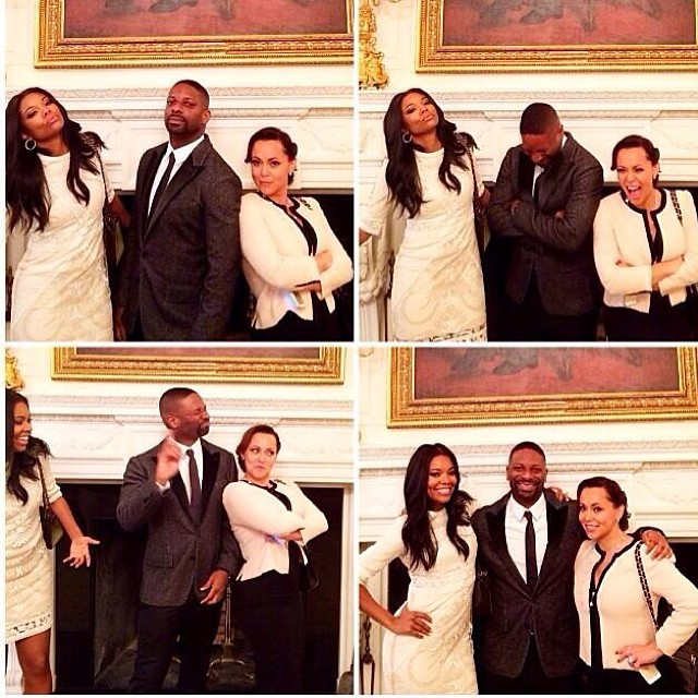 Gabrielle Union Adrienne Bos Miami Heat White House 2014 5
