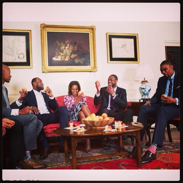 Miami Heat White House 2014 2