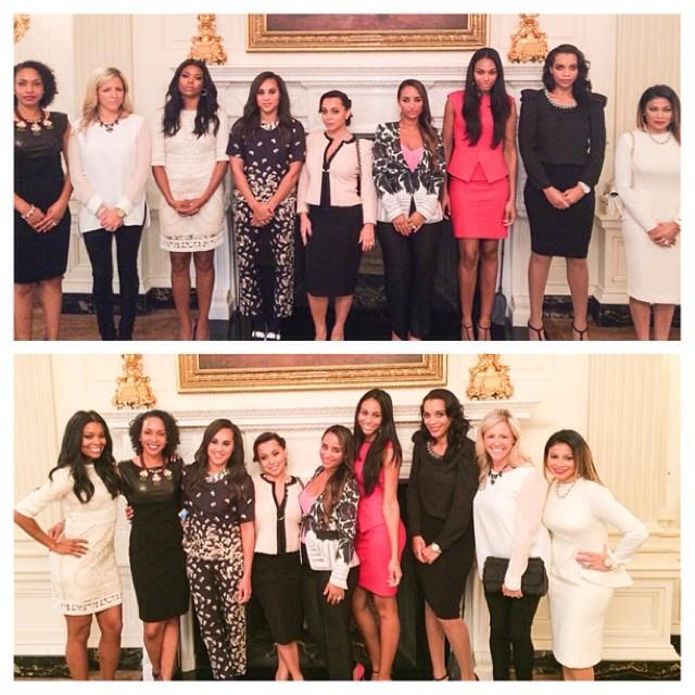 Miami Heat Wives White House 2014 6