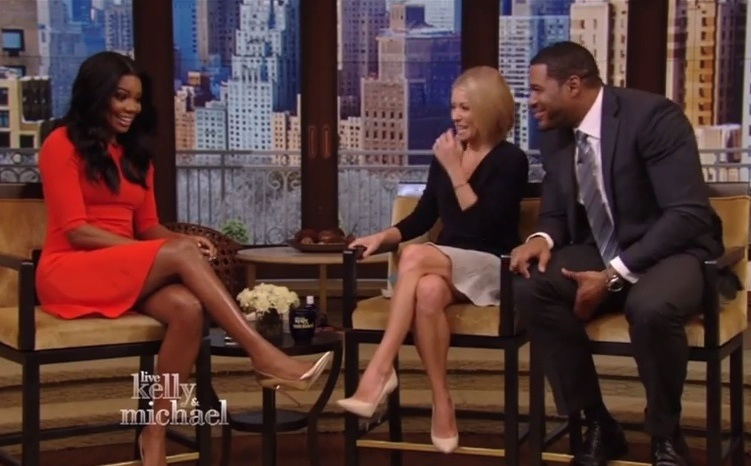 Gabrielle Union Live With Kelly Michael