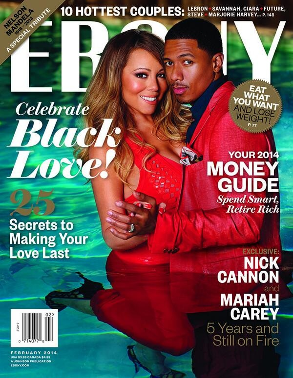 Mariah Carey Nick Cannon Ebony Magazine