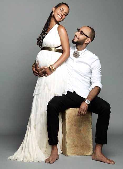 Alicia keys pregnant second baby