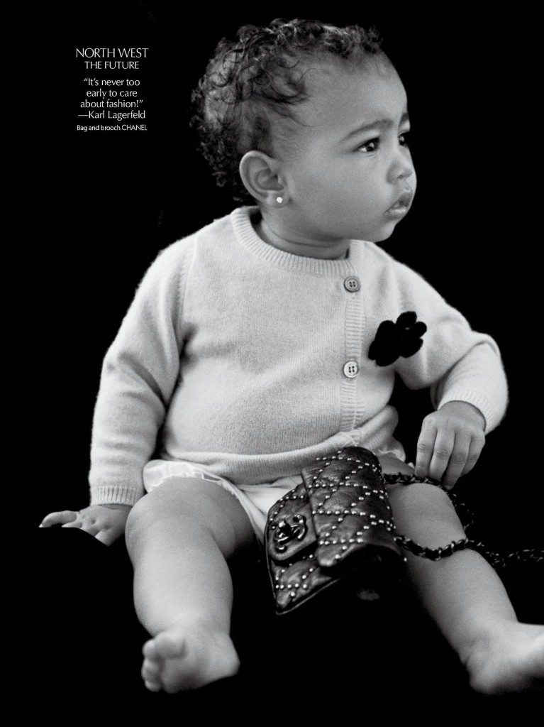 North West for Chanel