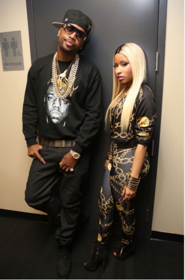 Nicki Minaj Sacff breezy